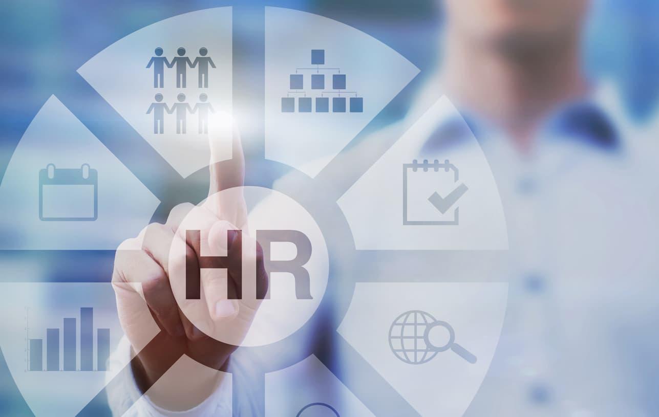 human resources concept diagram